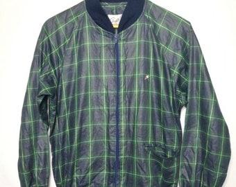 ec029bfef Plaid bomber jacket | Etsy