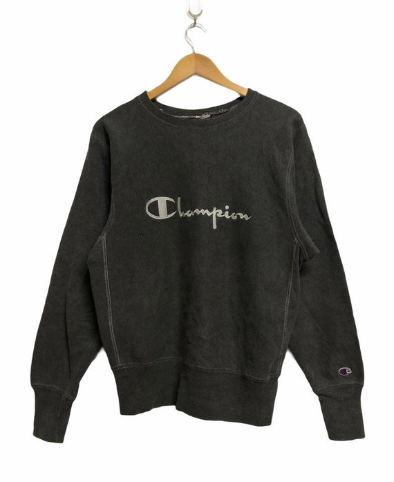 Vtg!!!Rare 90's Champions Reverse Weave Embroidery