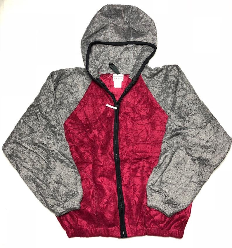 LL Bean Fleece Colour Block