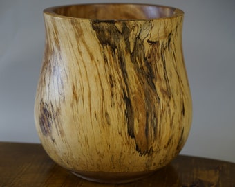 Spalted Birch Vessel
