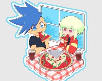 Galolio pizza date holo charm