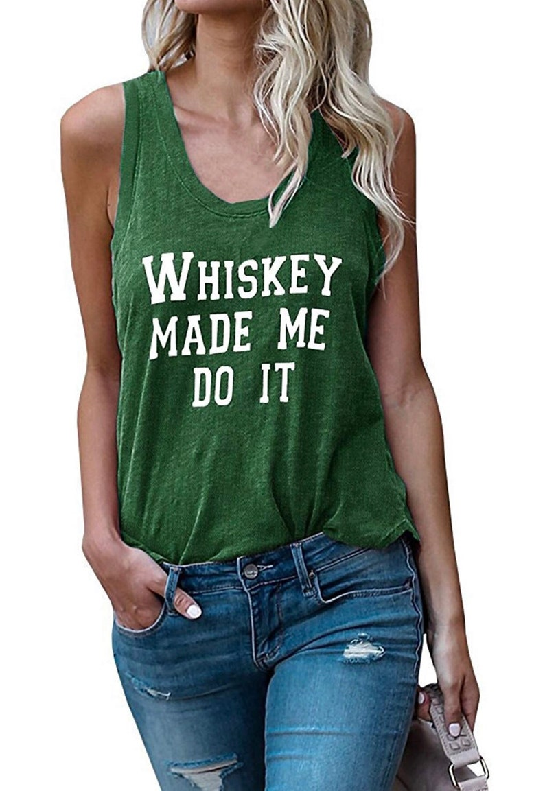 Whiskey Made Me Do It.