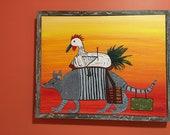 Chicken on an Armadillo: ...