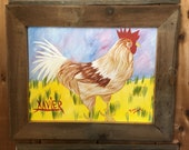Rooster Painting -Xavier