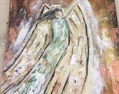 Angel in warm tones...