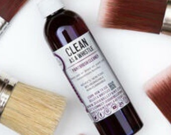Clean as a Whistle is a cleaner and brush conditioner