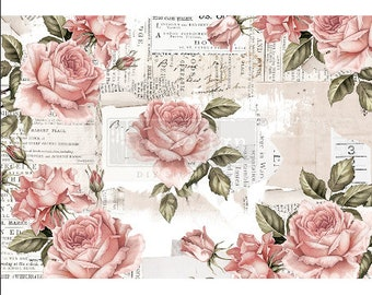 """Floral Sweetness ReDesign Decor Rice Paper 11.5""""x16.25"""""""