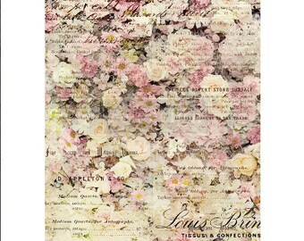 """Floral & Dream ReDesign Rice Paper 11.5""""x16.25"""""""