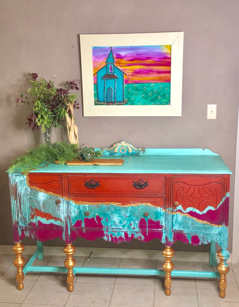 Buffet-Southwest Boho Patina image 0