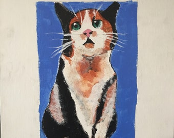 Custom Pet Painting (Acrylic)