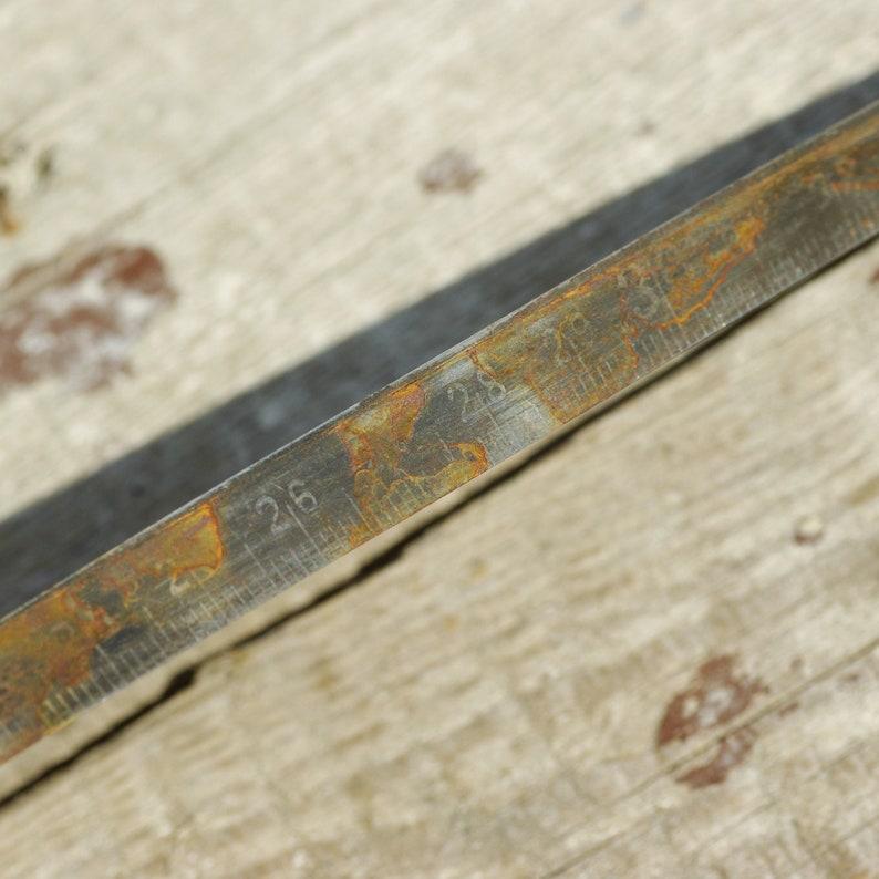 vintage tape measure gift for carpenter old engineer tool USSR roll-up tape meter tape vintage Rusted Soviet measuring tape 5 meters