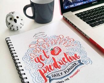Get Productive Pomodoro Planner Printables