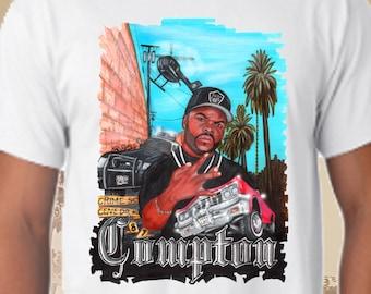 Ice Cube Westcoast Compton white