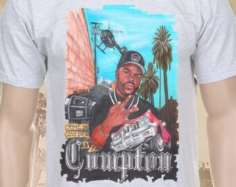 Ice Cube Westcoast Compton grey