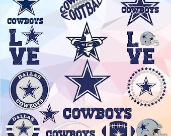 Dallas Cowboys svg, For Silhouette Studio, Cricut Design Space, Cutting Machines,Instant Download