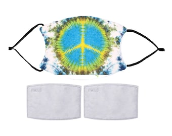 Glow Peace Sign Mask