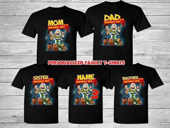 Disney Toy Story Family T-Shirt for Boys Multi