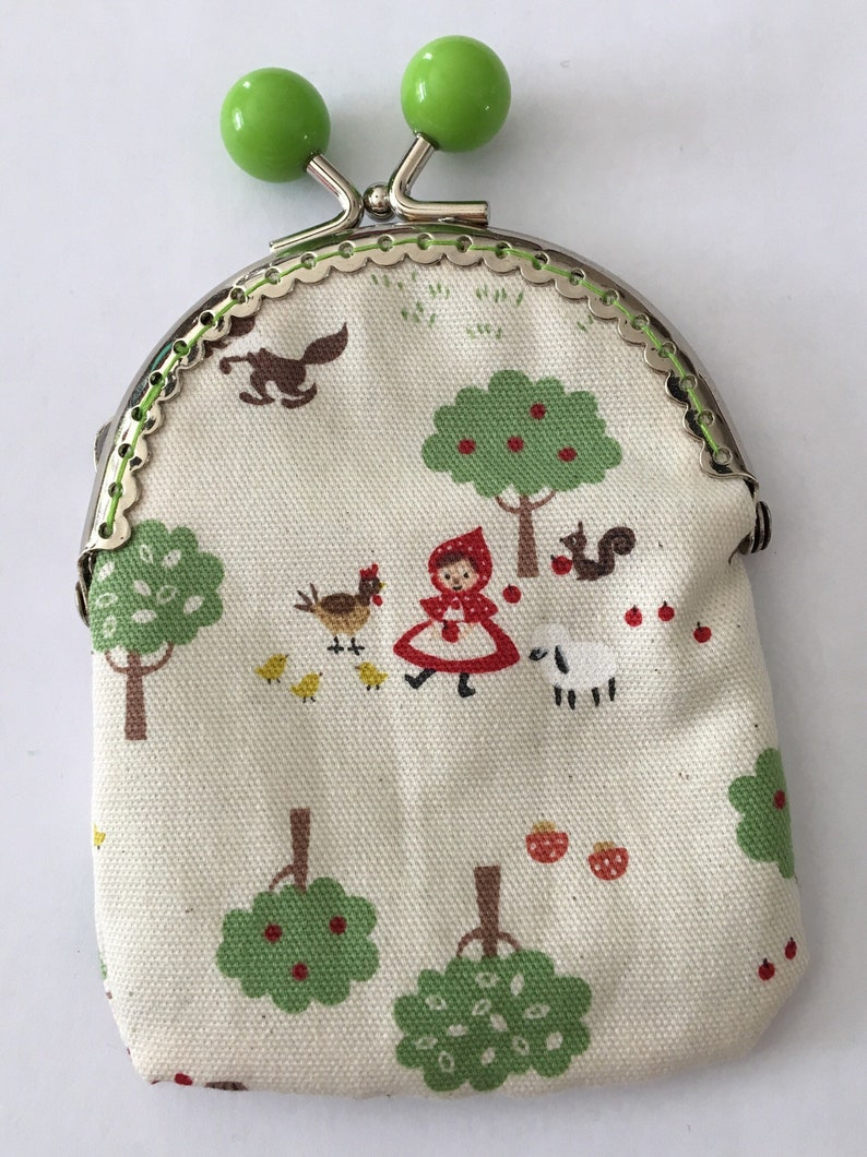 Small Red Riding Hood wallet