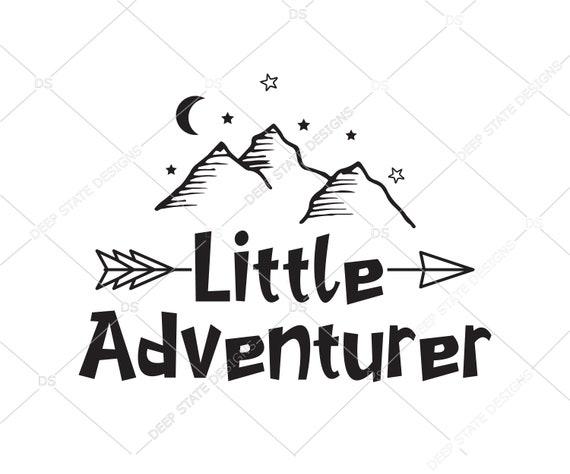 Little Adventurer Svg Little Explorer Svg Svg Cut File Etsy