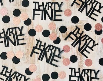 Thirty Fine Birthday-Thirty fine party-Thirty fine party decorations-35th birthday-30th Birthday Decorations -30th Party decorations