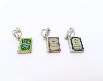 Shakespeare Stitch Markers (set of 3)