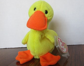 Quackers the Duck Plush Stuffed Animal Beanie Babies 1d5a24592f82