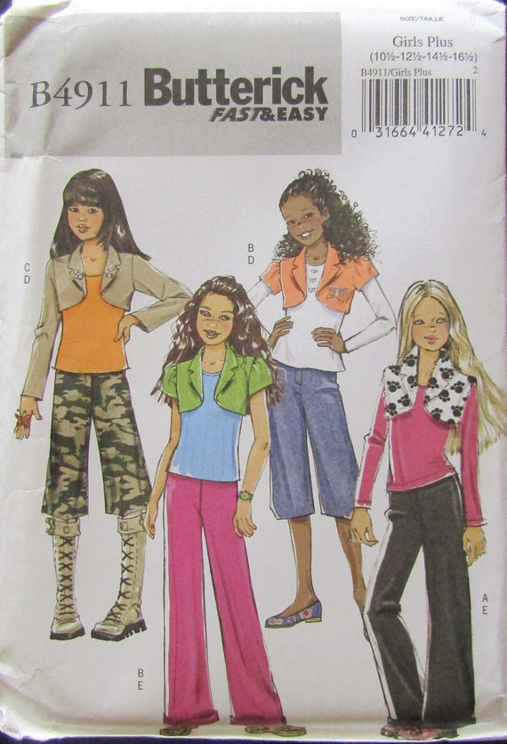 McCall/'s 6784 Girls/' Skirts and Purse    Sewing Pattern