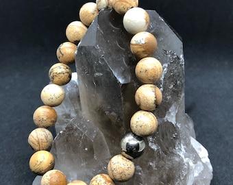 Picture Jasper Gemstone bracelet