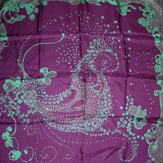 original LIBERTYS OF LONDON silk scarf, with origi