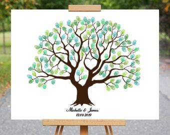 Fingerprint tree download   Etsy