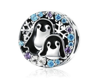 Pandora penguin | Etsy