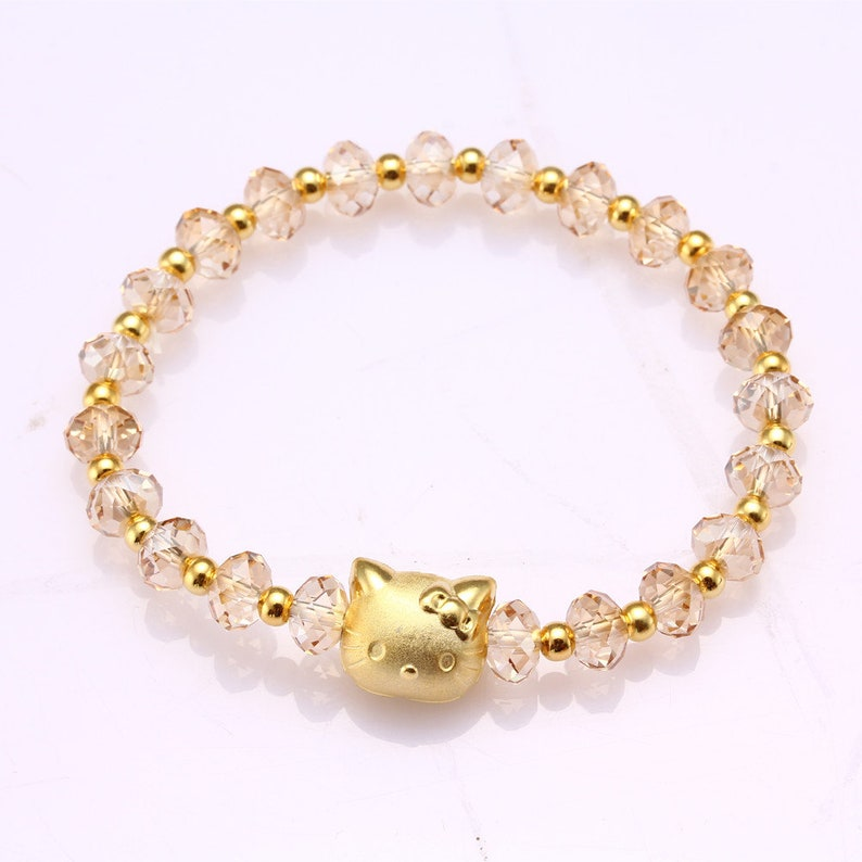 0d3fc0fb9 Hello Kitty Bracelet Swarovski Crystal Jewelry Bracelet image 0 ...