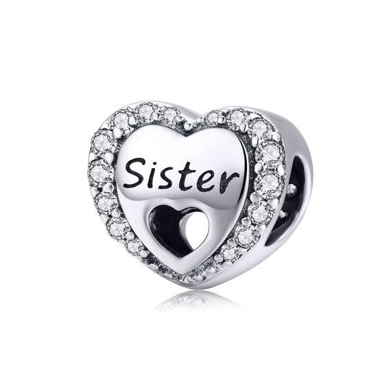 sister pandora charm