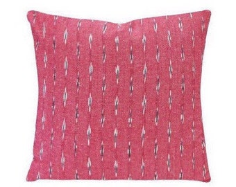 Designer Kufri Oli Pillow | Ikat Pillow | Boho Tribal