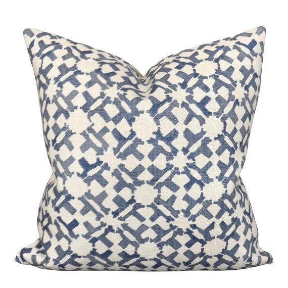 Designer decorative pillow cover Blue