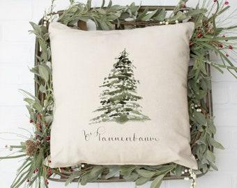 Christmas Tree Pillow Cover - Winter Decor Pillow Cover - Christmas Decor - Christmas Decorations - Farmhouse Decor - Farmhouse Pillow