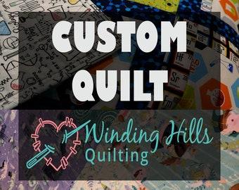 Custom Baby - Toddler Quilt