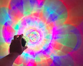 Niji RGB light source !! _ for Niji RGB Lantern play _  Portable type used with AAA batteries