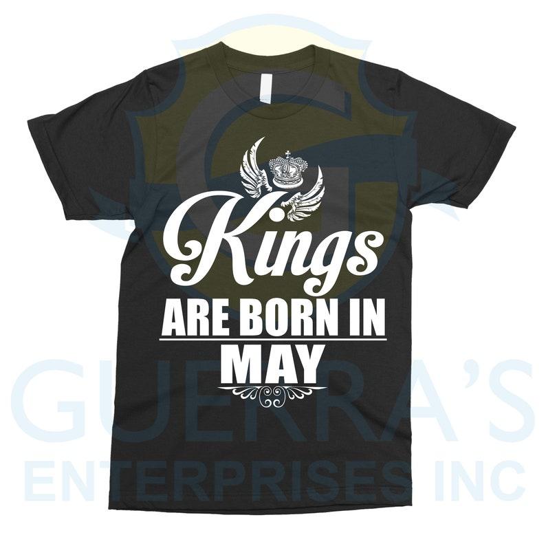 10206992 Kings Birthday Kings Shirt Birthday Shirt May t-shirt   Etsy