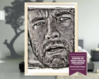 cast away poster gifts cast away print cast away cast away art cool poster movie posters cast away movie room decor christmas gift - The Christmas Gift Movie Cast