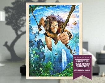 Tarzan movie, fanart, tarzan movie poster, tarzan movie print, tarzan movie art, tarzan, tarzan print, tarzan poster, cool art