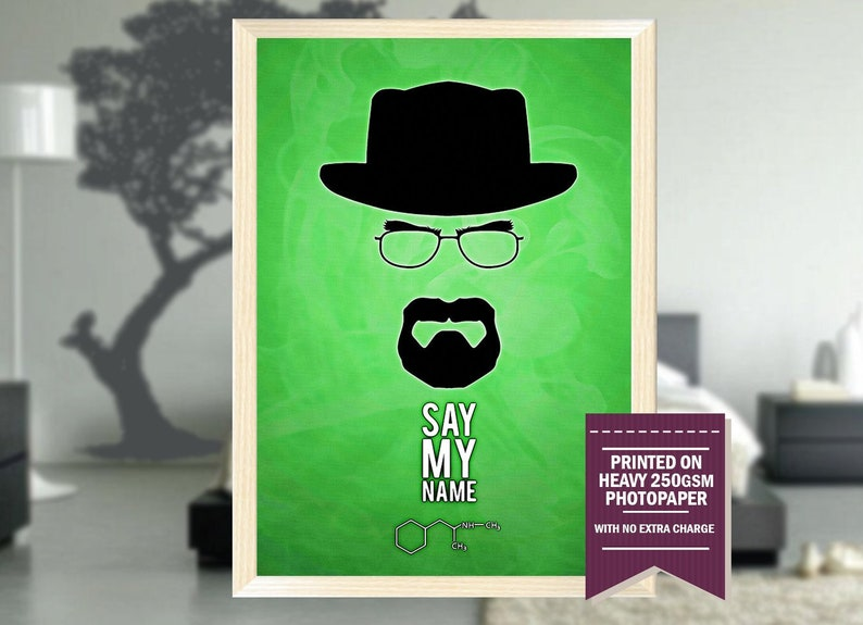 Breaking Bad Gifts Poster Home Decor
