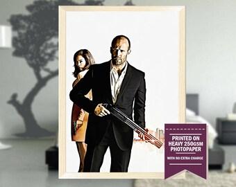 Parker movie, fanart, parker movie print, parker, parker movie poster, parker movie art, parker art, best posters, cool art