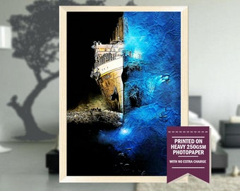 Ghosts of the Abyss, fanart, ghosts abyss poster, ghosts abyss print, cool posters, ghosts abyss movie, ghosts abyss, cool art, Christmas
