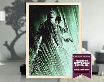 The Matrix Reloaded, fanart, the matrix poster, the matrix movie, the matrix print, Matrix Reloaded, cool posters, neo poster, cool art