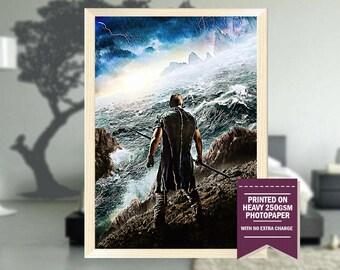 Noah movie, fanart, noah movie poster, noah movie print, noah movie, noah movie  art, noah poster, noah print, best posters, cool art