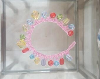 Girl's Crochet bracelet
