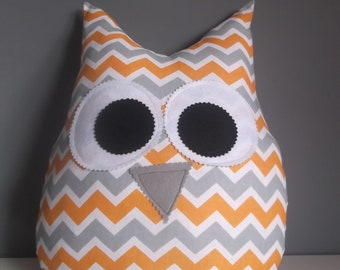 Owl pillow cushion Owl  baby room gift baby/kids Birthday  Decorative Pillows
