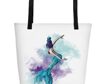 Mermaid 2 Beach Bag