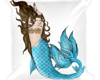 Mermaid Pillow